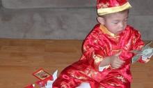 Celebrating Tết with lì xì