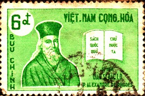 Alexandre de Rhodes stamp South Vietnam
