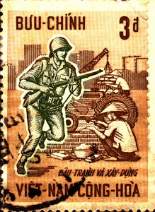 South Vietnam Stamp 1966