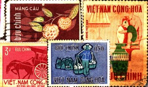Stamps from South Vietnam 1967