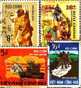 1972 South Vietnam Stamps