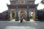 At the Citadel in Hue
