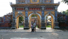 At the Citadel in Hue