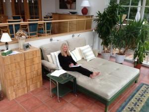Author Joye Emmens in Vienna