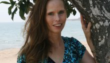 Picture of Author Michelle Robin La at Goleta Beach